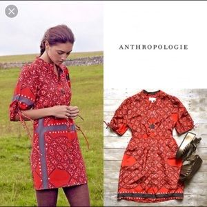 Moulinette Soeurs (Anthropologie) boho dress sz8